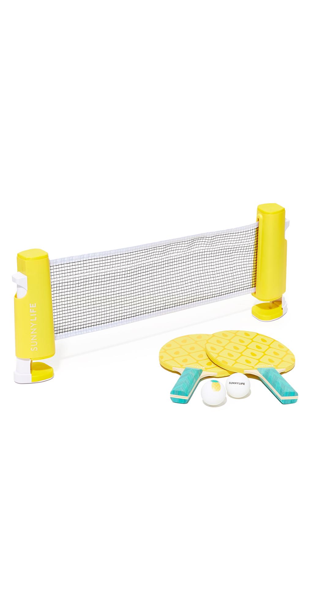 Pineapple Ping Pong Set SunnyLife