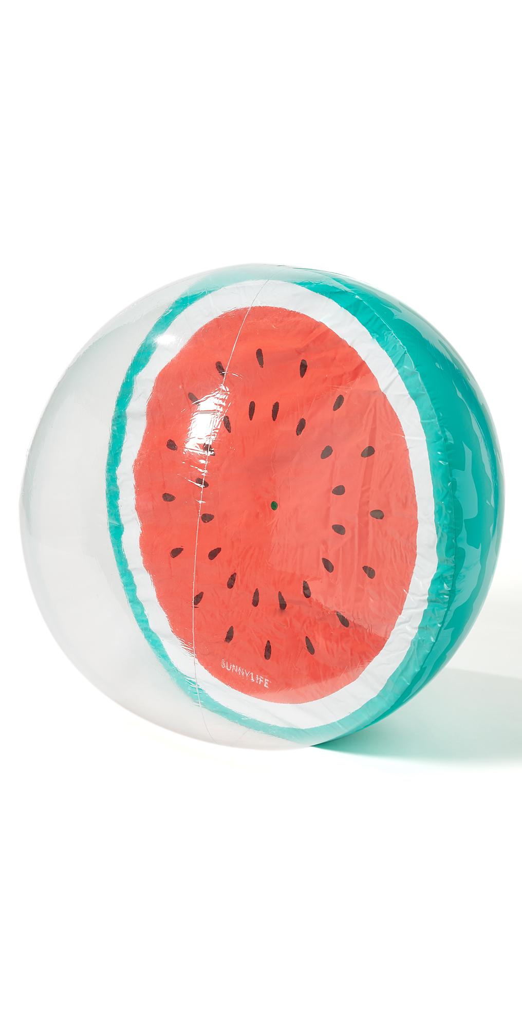 XL Inflatable Watermelon Beach Ball SunnyLife