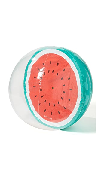 SunnyLife XL Inflatable Watermelon Beach Ball