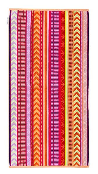 SunnyLife Balandra Luxe Towel In Pink Multi