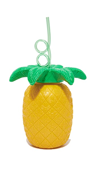 SunnyLife Pineapple Sipper Cup - Yellow