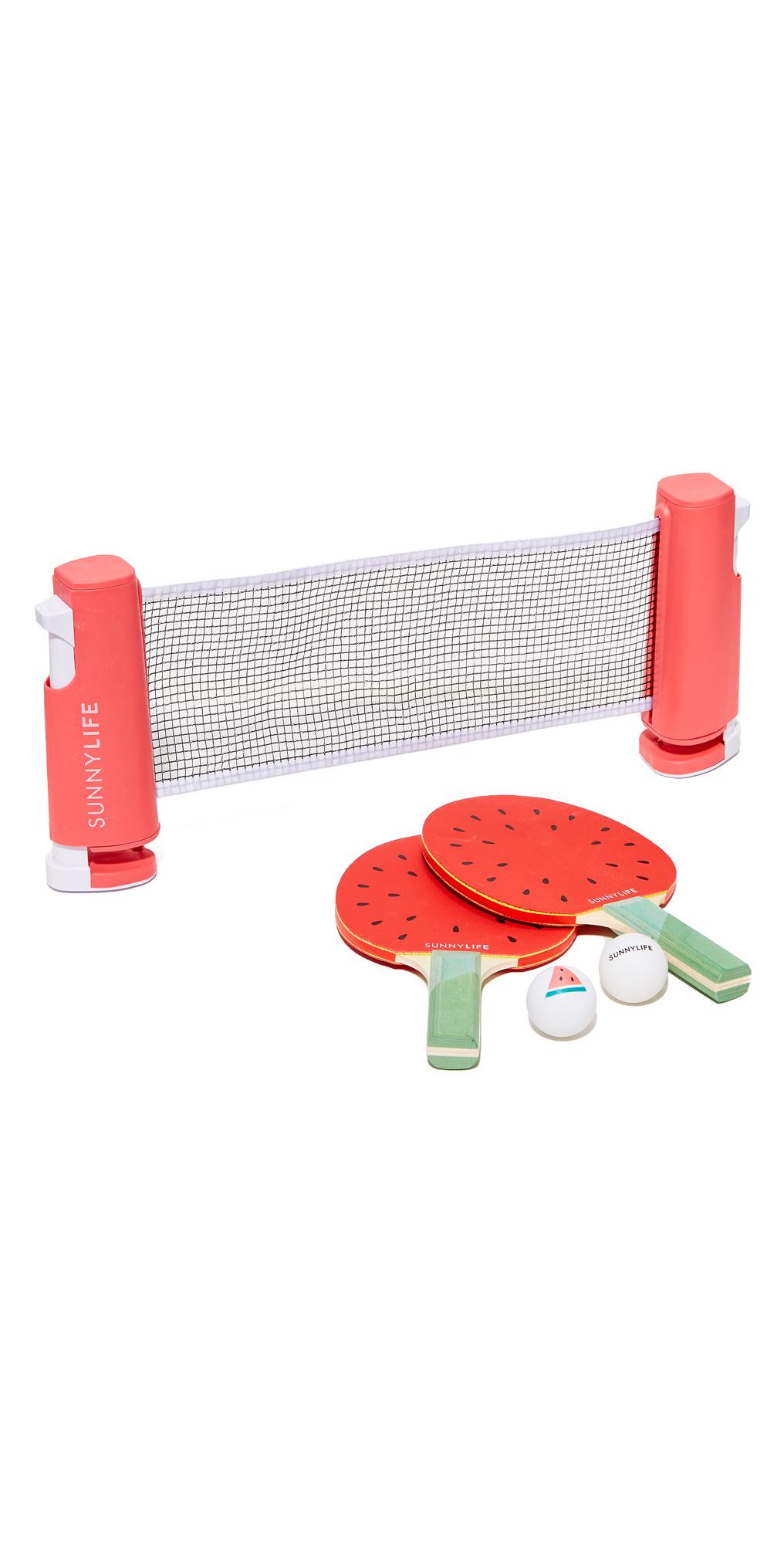 Watermelon Ping Pong Set SunnyLife