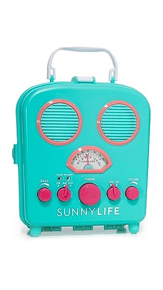SunnyLife Beach Sounds Speaker & Radio