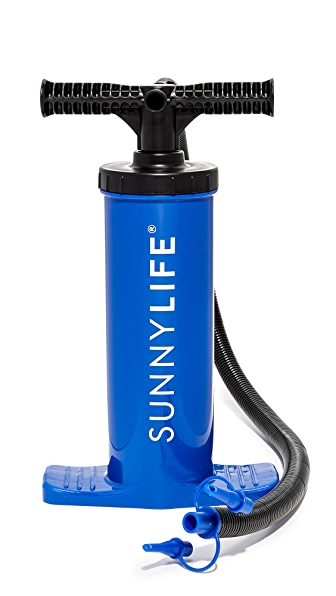 SunnyLife Foot Air Pump In Caribbean Blue