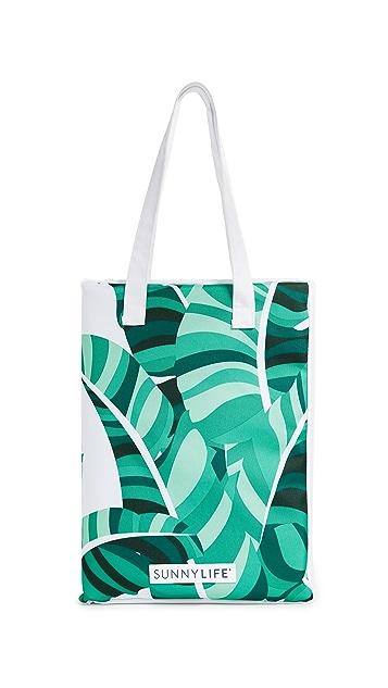 SunnyLife Banana Palm Picnic Blanket