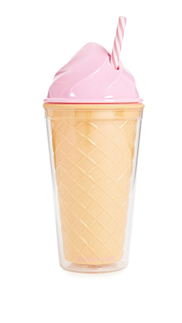 SunnyLife Ice Cream Tumbler
