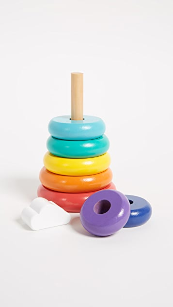 SunnyLife Toddler Stacking Toy Rainbow