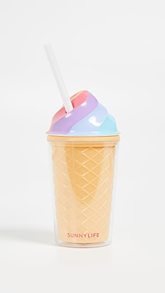 Kids Ice Cream Tumbler in Rainbow