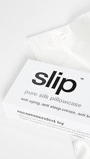 Slip White King Pillowcase
