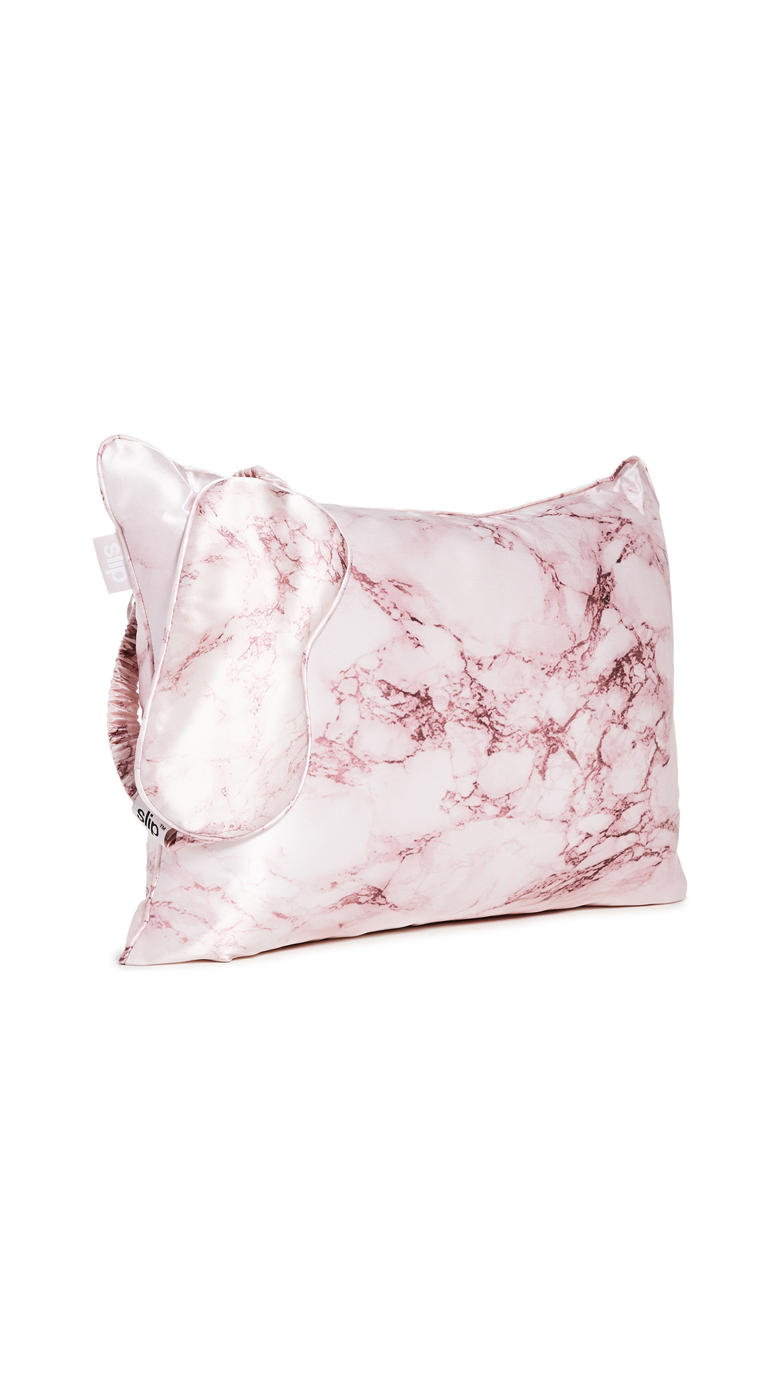 Slip Pink Marble Travel Set