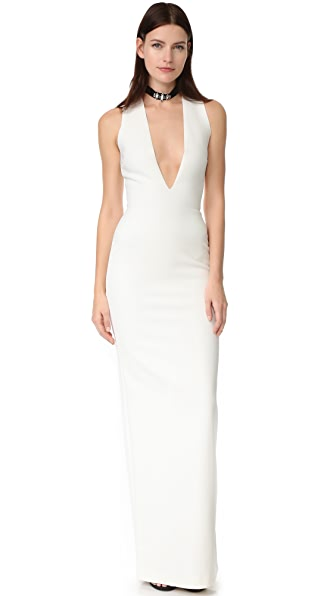 Solace London Grace Maxi Dress - Cream