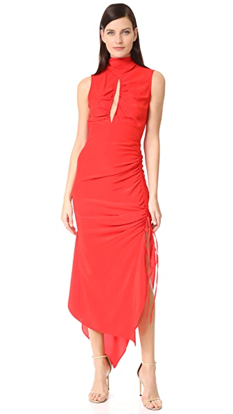 Solace London Palmira Dress - Red