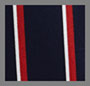 Navy/Red Boating Stripe