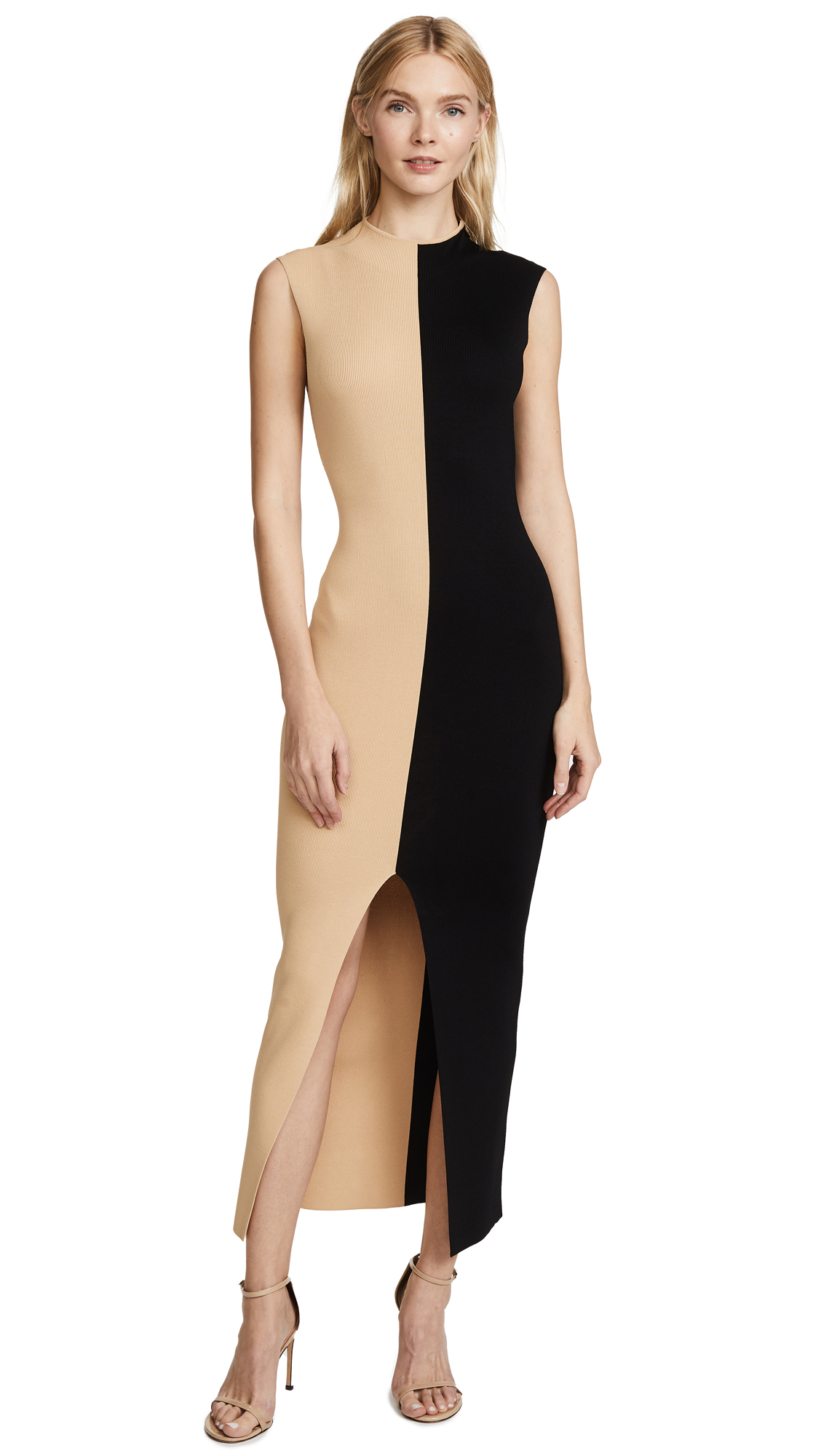 Solace London Intarsia Dress