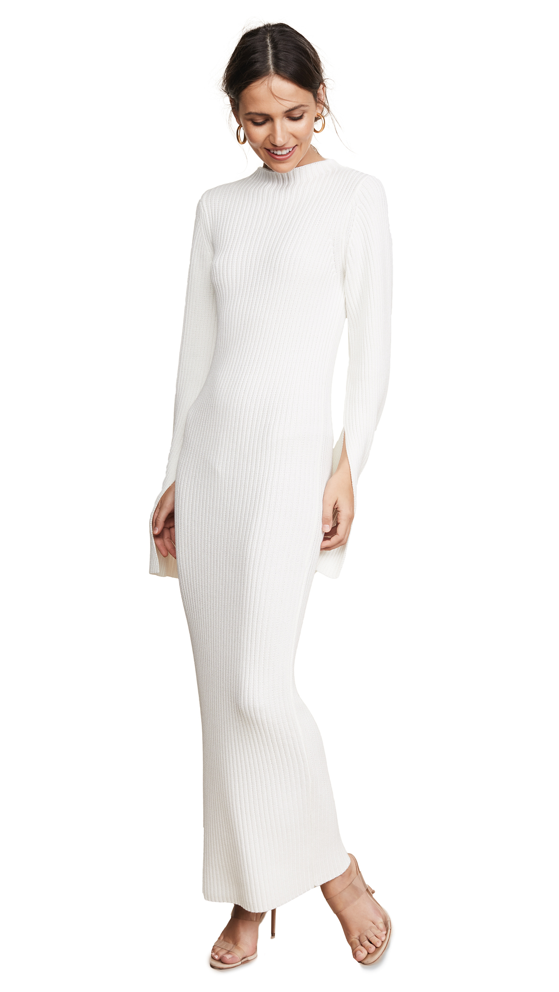 Celina Dress, Winter White