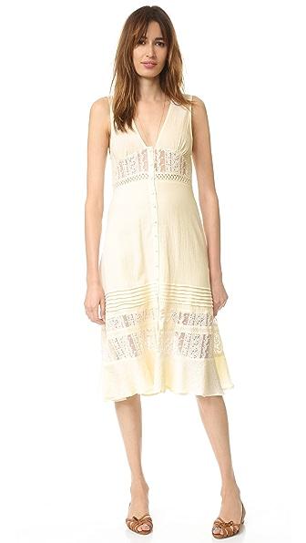 Somedays Lovin Fortune Peasant Midi Dress