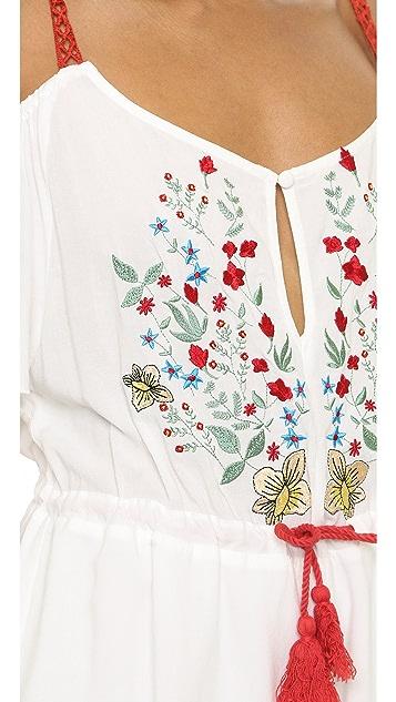 Somedays Lovin Leonie Embroidered Romper