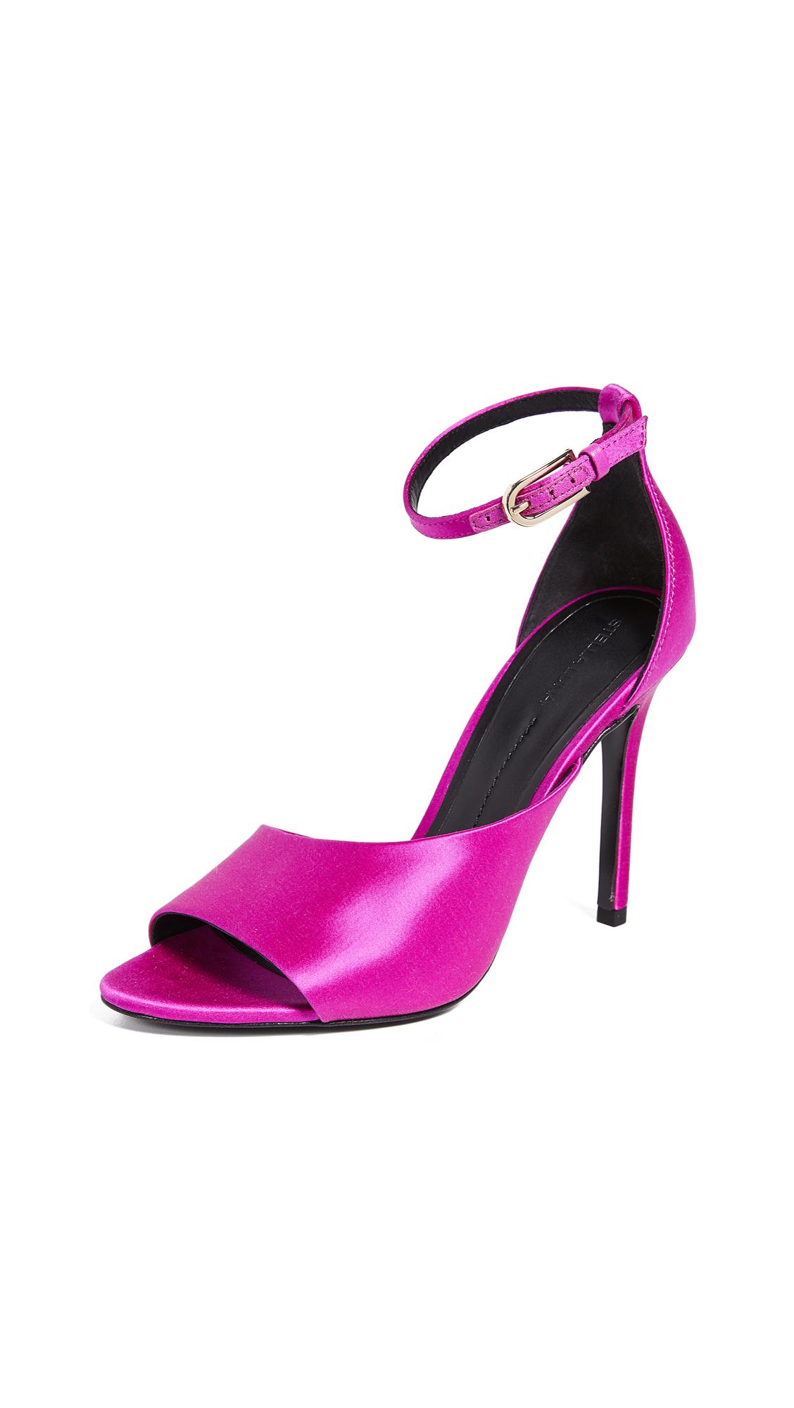 Stella Luna Asymmetrical Sandals - Fushia