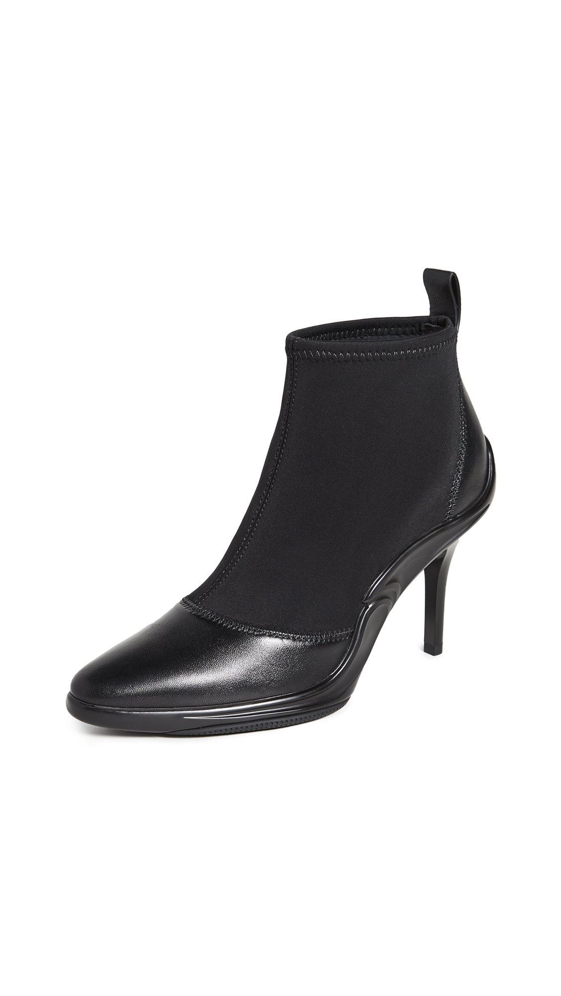 Stella Luna Hybrid Heel Booties - 60% Off Sale