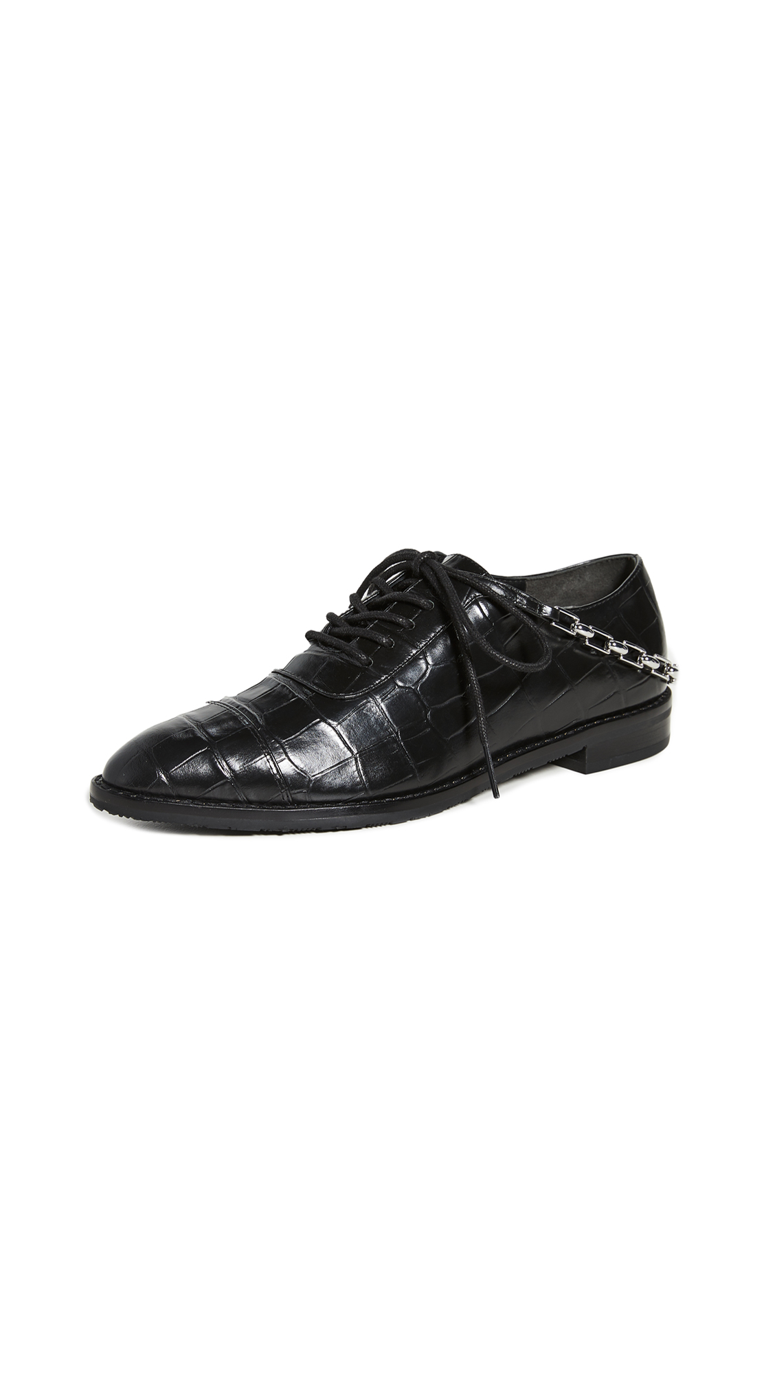 Photo of Stella Luna Stella Chain Oxfords - shop Stella Luna Flats, Ballet online