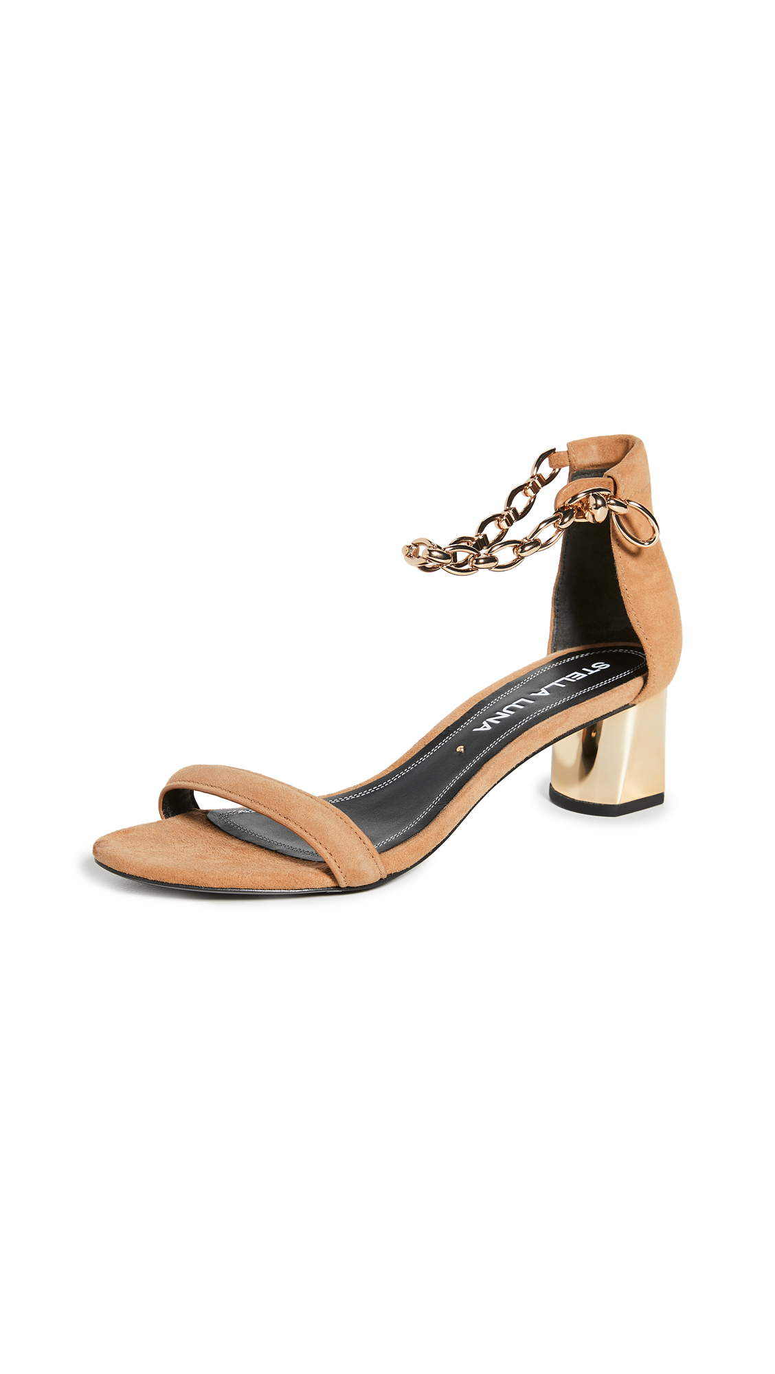 Stella Luna Ankle Chain Sandals - 50% Off Sale