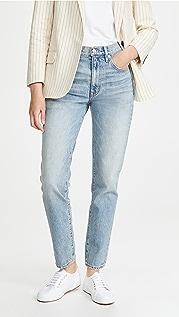 SLVRLAKE Roxy Mid Rise Slim Fit Jeans