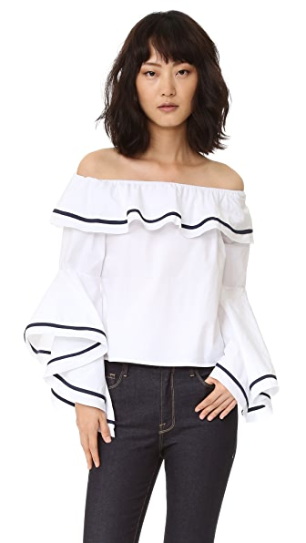Style Mafia Blaze Off the Shoulder Top