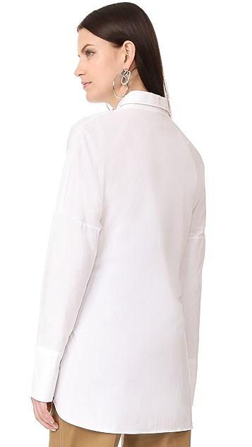 Style Mafia Блуза с корсетными вставками