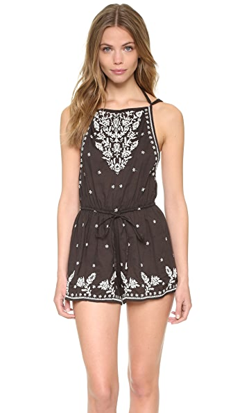 Star Mela Avi Embroidered Romper