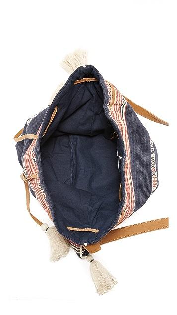 Star Mela Billie Woven Cross Body Bag
