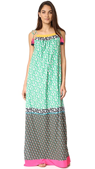 Star Mela Abril Print Maxi Dress