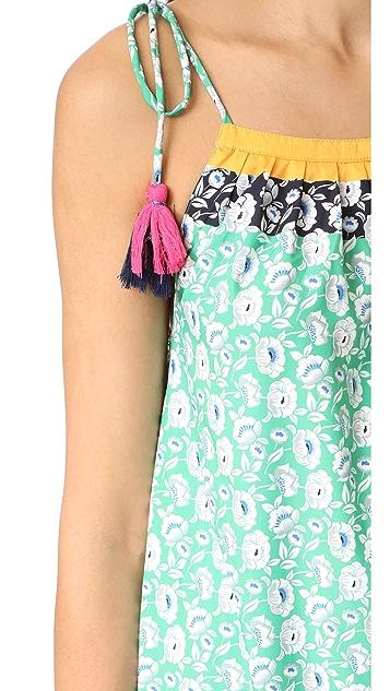Star Mela Abril Print Maxi Dress
