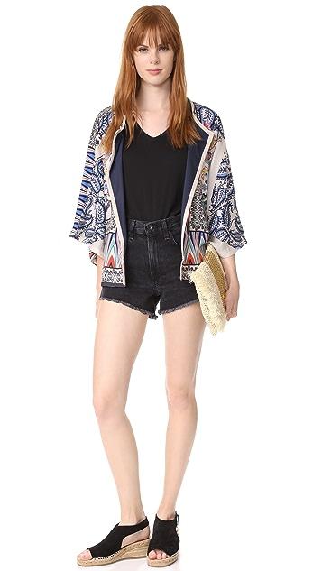 Star Mela Жакет Kishi в стиле кимоно