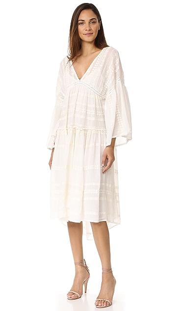 Star Mela Valentina Embroidered Dress