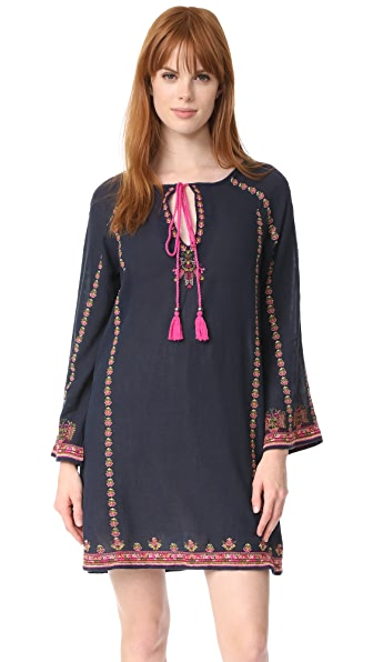 Star Mela Valeska Embroidered Dress