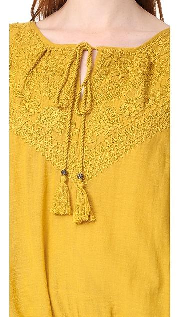 Star Mela Veri Embroidered Top