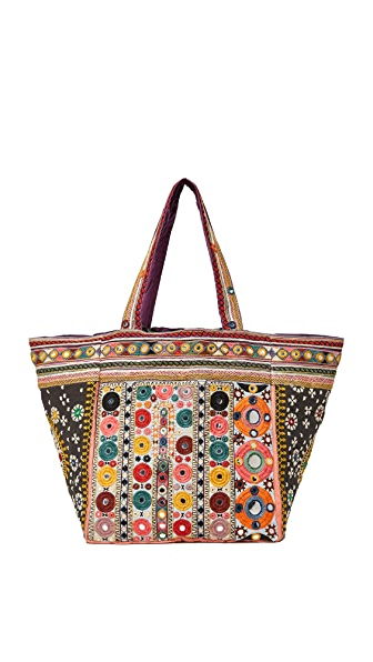 Star Mela Charvi Embroidered Tote - Multi