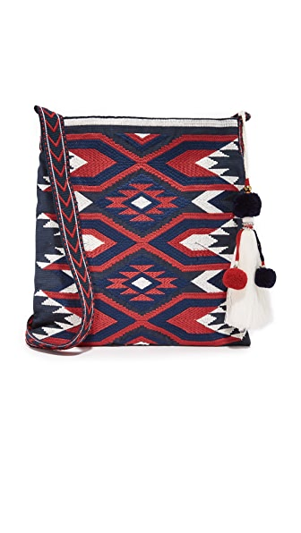 Star Mela Doli Medium Cross Body Bag - Navy