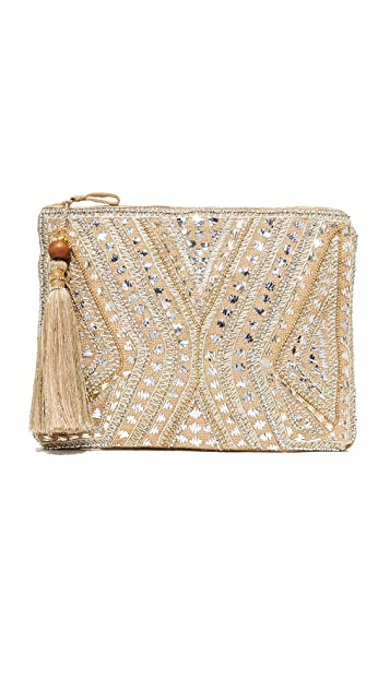 Star Mela Mukti Embroidered Clutch