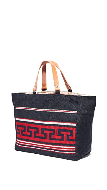 Star Mela Myra Embroidered Tote
