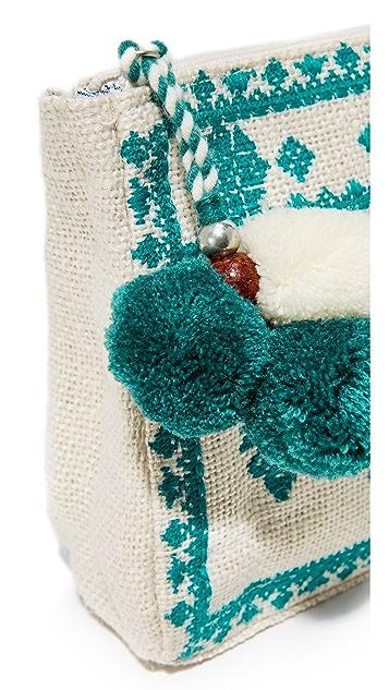 Star Mela Palma Embroidered Purse