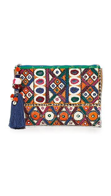 Star Mela Raji Embroidered Clutch
