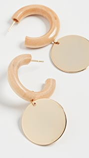 Sophie Monet The Coin Midi Hoops
