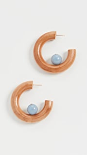 Sophie Monet The Jade Sun Earrings