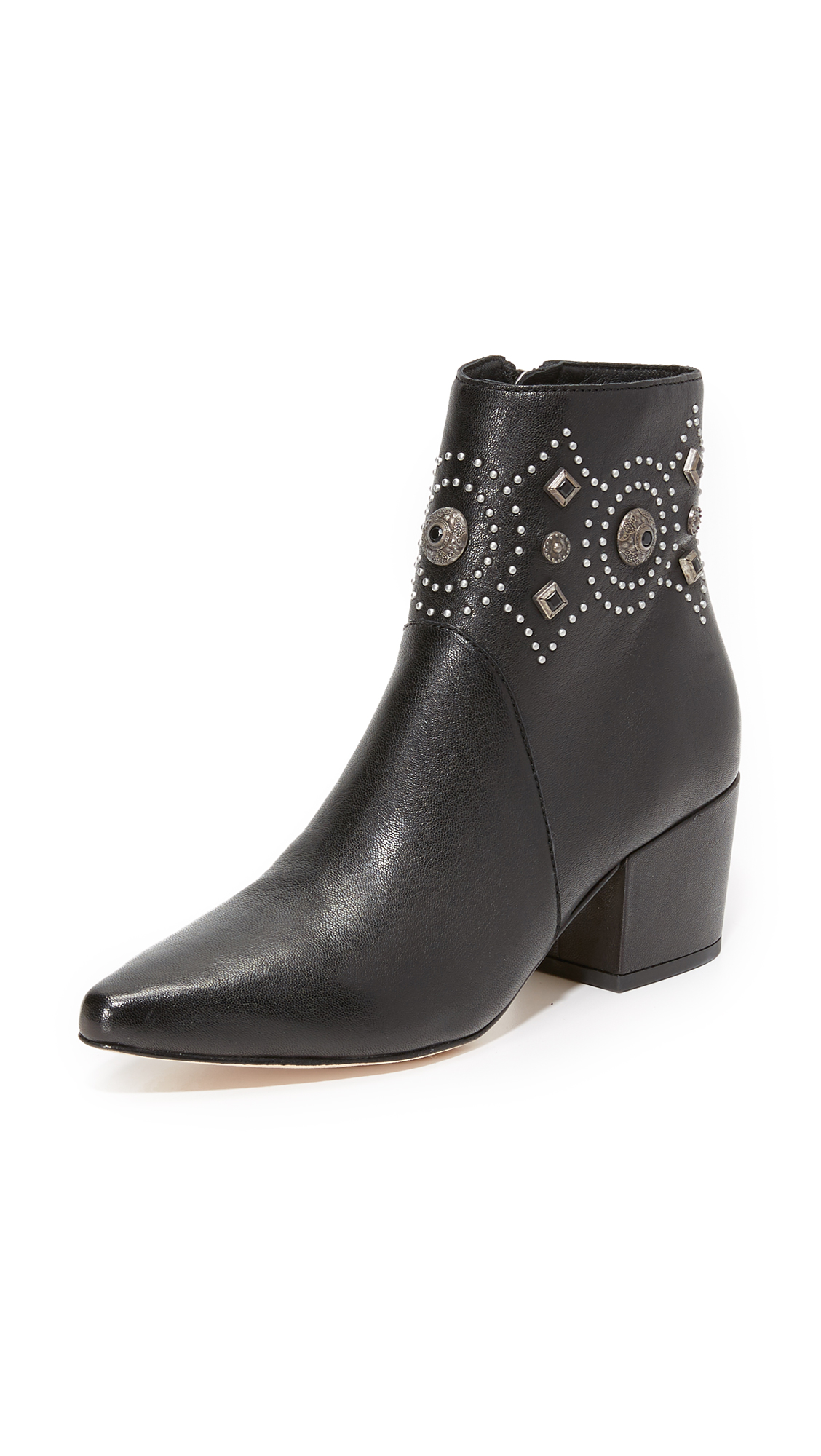 Sigerson Morrison Cailyn Booties - Black