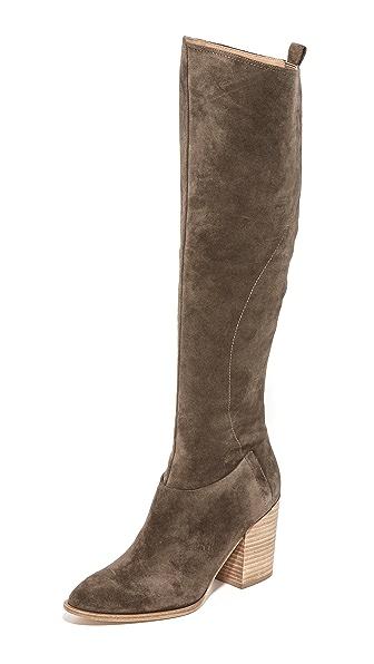 Sigerson Morrison Gazella Tall Boots - Vigogna