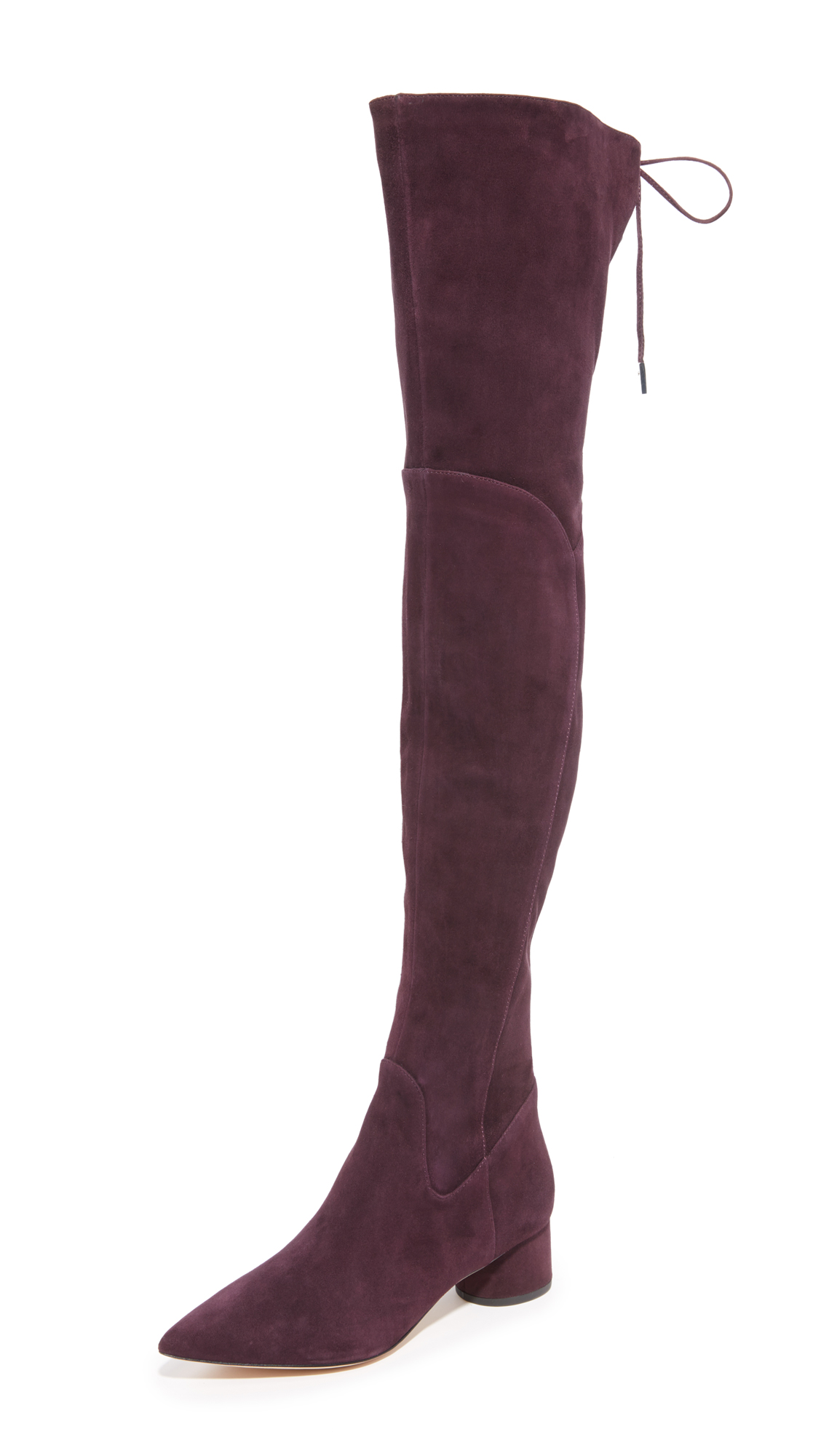 Sigerson Morrison Zetan Over The Knee Boots - Bordo