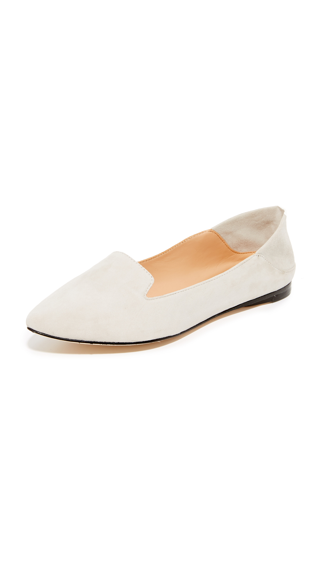 Photo of Sigerson Morrison Valentine Fold Down Flats Taupe - Sigerson Morrison online
