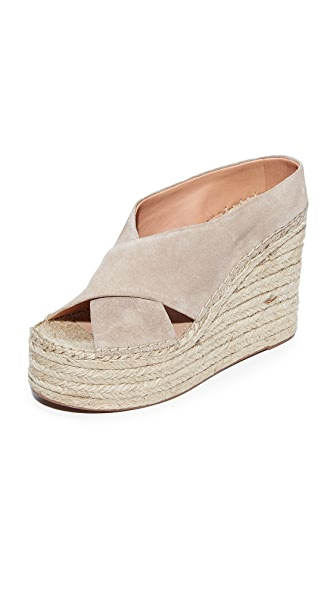 Sigerson Morrison Atifa Espadrille Wedge Sandals - Seppia