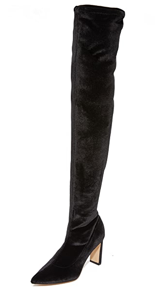 Sigerson Morrison Hye Over the Knee Boots In Black